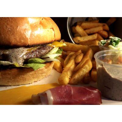 Gurman burger (köret nélkül)