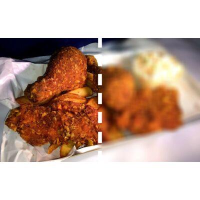 Kentucky csirke tál - fél adag