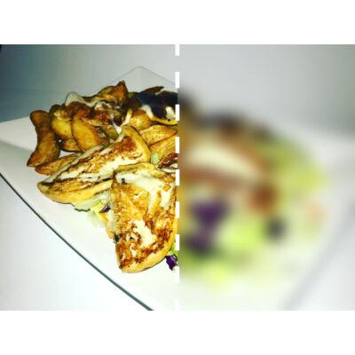 Grillezett sajt (füstölt mozzarella) - fél adag