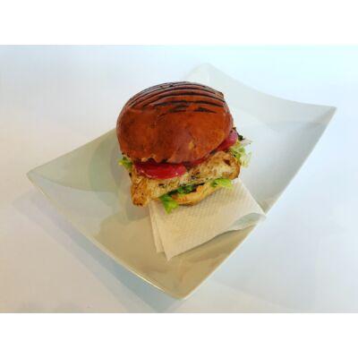Csirkeburger roston csirkemellel