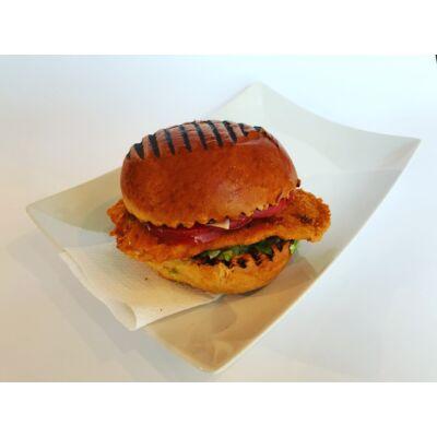 Csirkeburger rántott csirkemellel