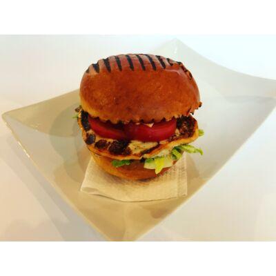Vega burger grillezett sajttal