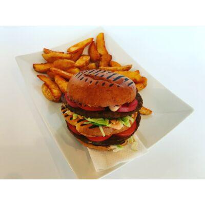 Dupla Burger menü