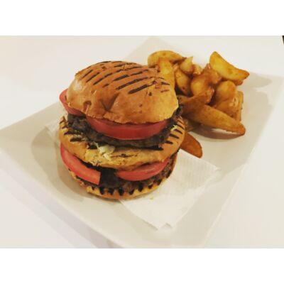 Prémium dupla burger menü