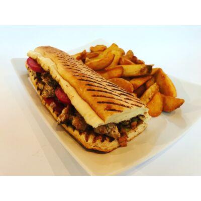 Vaslapos szendvics menü roston csirkemellel