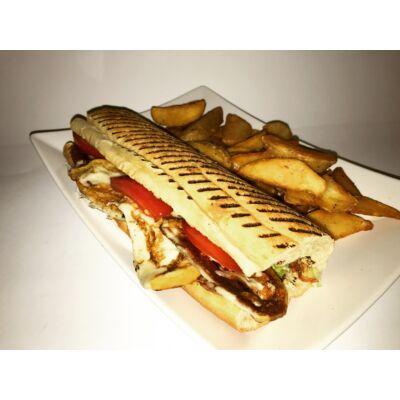 Vega vaslapos szendvics menü grillezett sajttal
