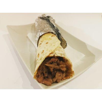 Tortilla tekercs gyros hússal