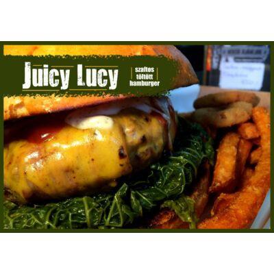 Juicy Lucy burger (köret nélkül)
